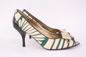 J.Crew J Crew Collection Green Green, Khaki Pumps