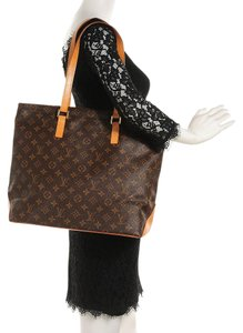 Louis Vuitton Speedy Neverfull Cabas Mezzo Shoulder Bag