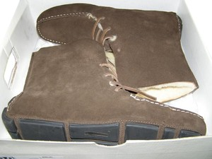 Banana Republic Suede Brown Chocolate Boots