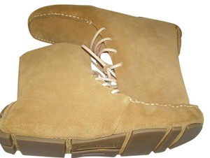 Banana Republic Ankle Bootie Tan Suede Boots