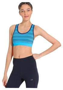 Ideology Ideology Blue Space-Dyed Seamless Mid-Impact Sports Bra