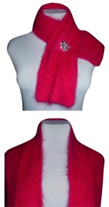 Other Fuchsia Knit Scarf