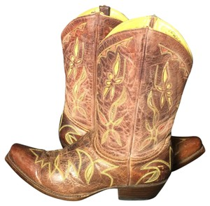 Old Gringo Burgundy Cowgirl 9 Western Size 9 Brown Boots