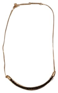 Banana Republic Black Leather Necklace