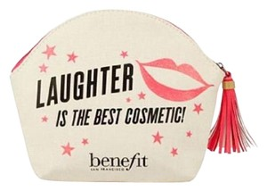 "Benefit Benefit Cosmetics ""Laughter is the Best Cosmetic"" Makeup Bag"