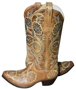 Old Gringo Cowgirl Western Cowboy Size 6.5 Brown Boots