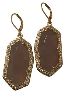 Vince Camuto Faceted Stone Drop Earring