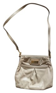 Marc Jacobs Tan Leather Handbag Cross Body Bag