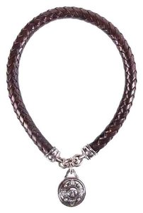 Barry Kieselstein-Cord Barry Kieselstein-C Brown & Silver Necklace