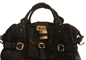 Chloé Paddington Leather Designer Satchel in Brown