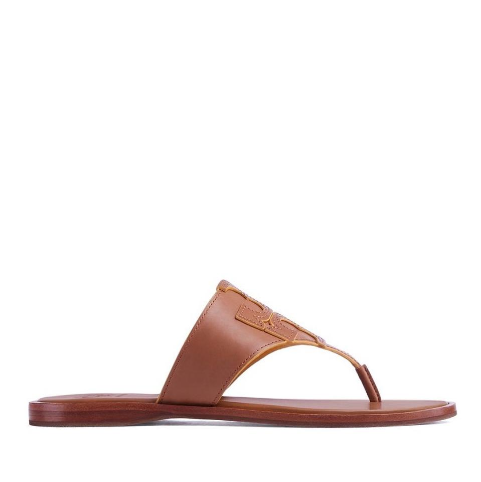 a1179a7ae8c6 Tory Burch Royal Tan Jamie Thong Sandals Size US 8 Regular (M