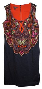 Muse Office Work Embroidered Dress