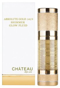 Absolute 24K gold shimmer fluid 1 Oz Bottle- Brand New Without Box.!!