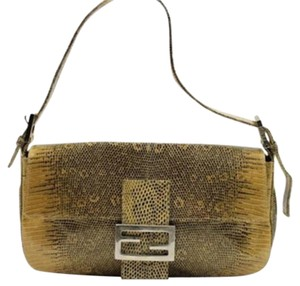Fendi Shoulder Satchel Momma Baguette