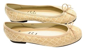 French Sole beige Flats