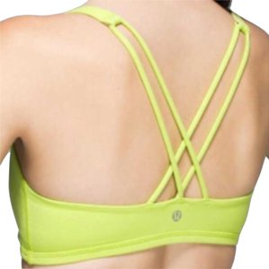 Lululemon Guc lululemon free to be sport's bra yellow size 4