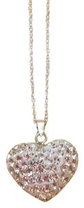 Swarovski Elements Swarovski Crystal Heart Necklace