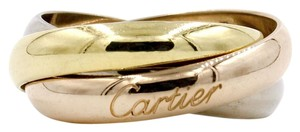 Cartier Trinity de Cartier Ring Size 6 in 18k Yellow, Rose and White Gold B4084900