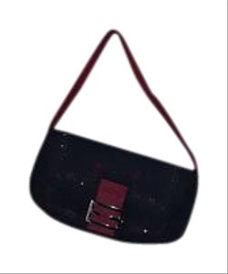 Red/Black Satchel