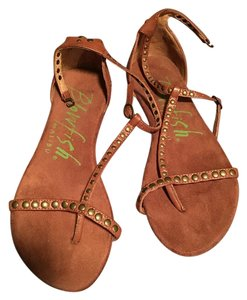 Blowfish Sandals Sandals Leather Sandals Leather Brown Flats