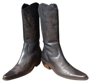 Matisse Black/Toffee Boots
