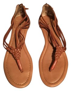 Lucky Brand Lucky Leather Lucky Leather Brown Sandals