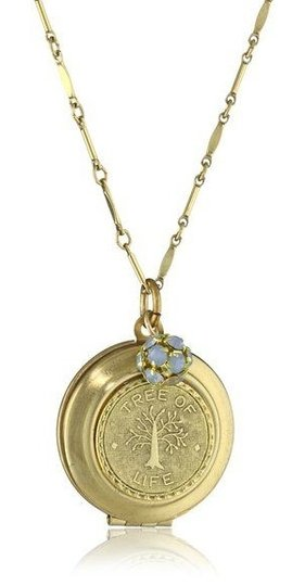 """Other LENORA DAME Romantic Collection """"Tree of Life"""" Locket Necklace"""