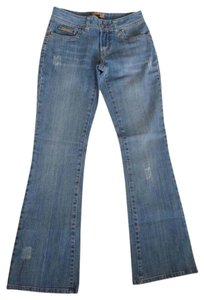 Candie's Boot Cut Jeans-Light Wash