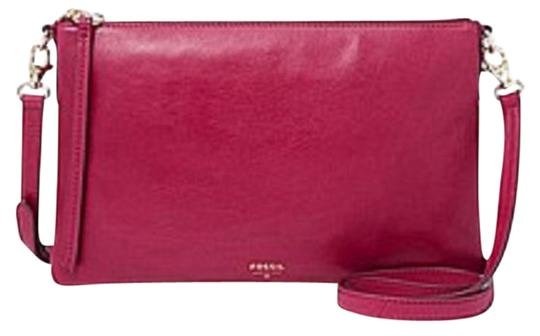 Preload https://item1.tradesy.com/images/fossil-sydney-fuchsia-shoulder-pink-leather-cross-body-bag-1648790-0-4.jpg?width=440&height=440