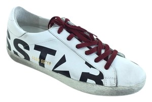 Golden Goose Deluxe Brand Sneakers Distressed White Athletic