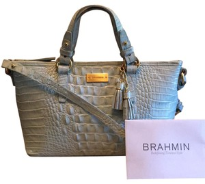 Brahmin Tote in French Blue Melbourne
