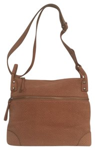 Fossil Suede Cross Body Bag