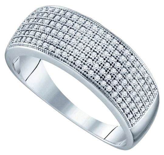 Preload https://item1.tradesy.com/images/white-gold-diamond-briang-mens-designer-10k-050-cttw-micro-pave-luxury-fashion-band-ring-1648855-0-0.jpg?width=440&height=440