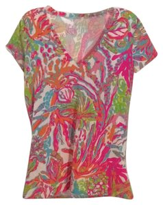 Lilly Pulitzer T Shirt Multicolored