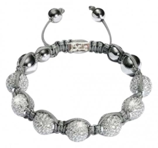 BALLA Celebrity Gray and White Designer Balla Bracelet