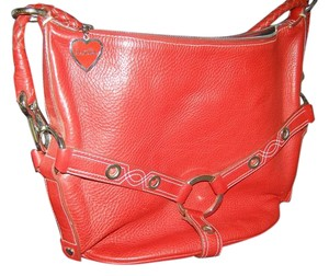 Luella Leather Silver Hardware Hobo Bag