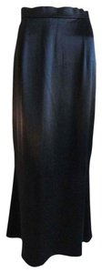 Badgley Mischka Maxi Skirt Black