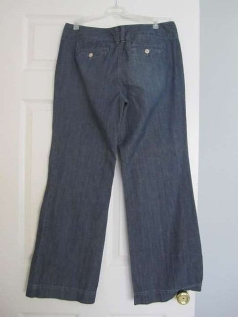 Ann Taylor LOFT Wide Leg Pants Light Blue/Denim