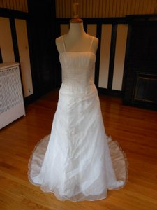 Lily Rose White Sample Destination Wedding Dress Size 4 (S)