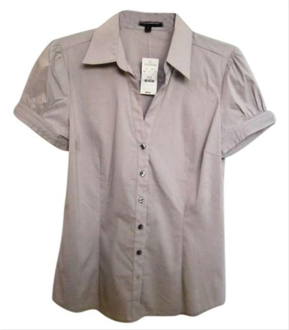 Express Button Down Shirt Putty