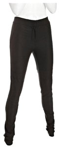 Diane von Furstenberg Skinny Stretch Panel Skinny Pants Black