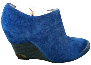 Vince Camuto Bootie Oxford Blue Aged Suede Boots