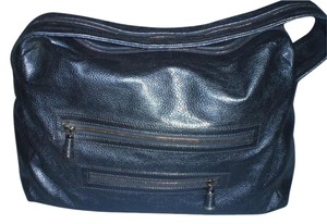 Sergio Rossi Black Travel Bag