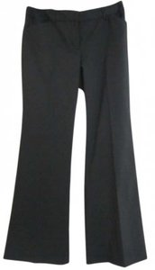 Express Trouser Pants Black Pinstripe