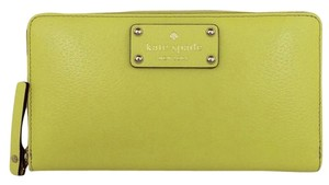 Kate Spade Neda Wellesley Limonium Limonium Yellow Clutch