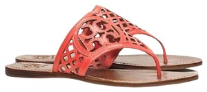 Tory Burch Poppy coral Sandals