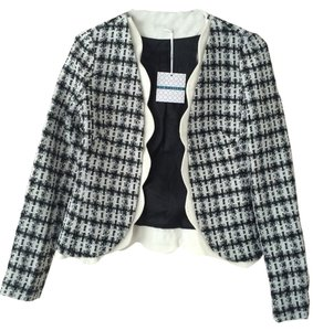 Pim + Larkin Black And White Blazer