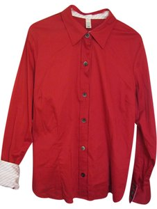 Old Navy Button Down Shirt Red