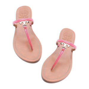 12c629fb7c97cb Pink Tory Burch Sandals - Up to 90% off at Tradesy