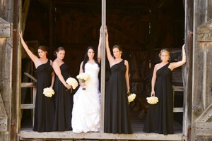 David's Bridal Black Davids Bridal Black Bridesmaids Dress Dress